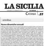 La Sicilia – Catania 25 Febbraio 2011