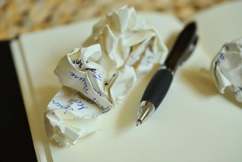 Il diario degli errori